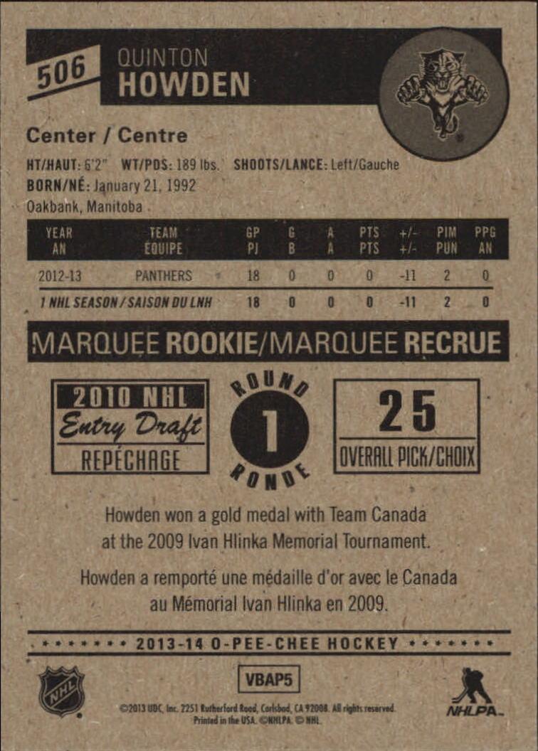 2013-14-Pee-O-Chee-Hk-base-501-642-Rookies-YOU-Pick-acquista-carte-10-SPEDIZIONE-GRATUITA miniatura 11