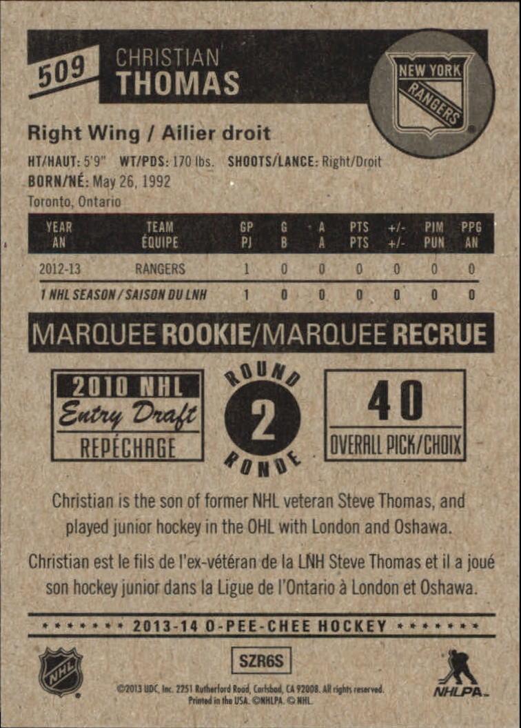 2013-14-Pee-O-Chee-Hk-base-501-642-Rookies-YOU-Pick-acquista-carte-10-SPEDIZIONE-GRATUITA miniatura 16