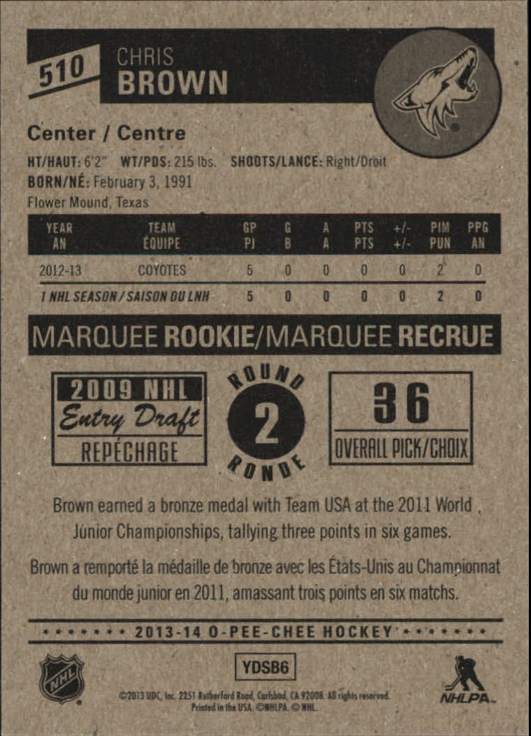 2013-14-Pee-O-Chee-Hk-base-501-642-Rookies-YOU-Pick-acquista-carte-10-SPEDIZIONE-GRATUITA miniatura 18