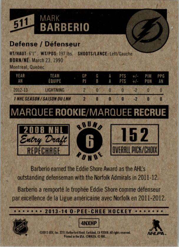 2013-14-Pee-O-Chee-Hk-base-501-642-Rookies-YOU-Pick-acquista-carte-10-SPEDIZIONE-GRATUITA miniatura 20