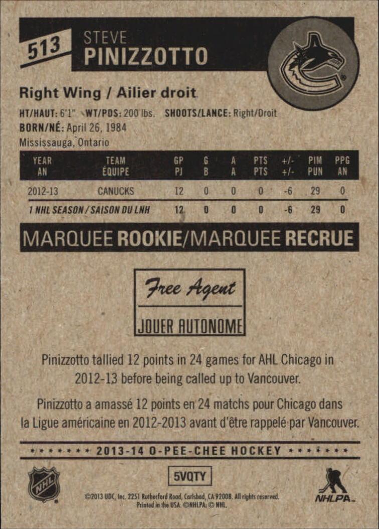 2013-14-Pee-O-Chee-Hk-base-501-642-Rookies-YOU-Pick-acquista-carte-10-SPEDIZIONE-GRATUITA miniatura 24