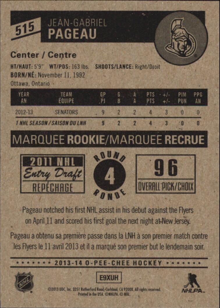 2013-14-Pee-O-Chee-Hk-base-501-642-Rookies-YOU-Pick-acquista-carte-10-SPEDIZIONE-GRATUITA miniatura 26