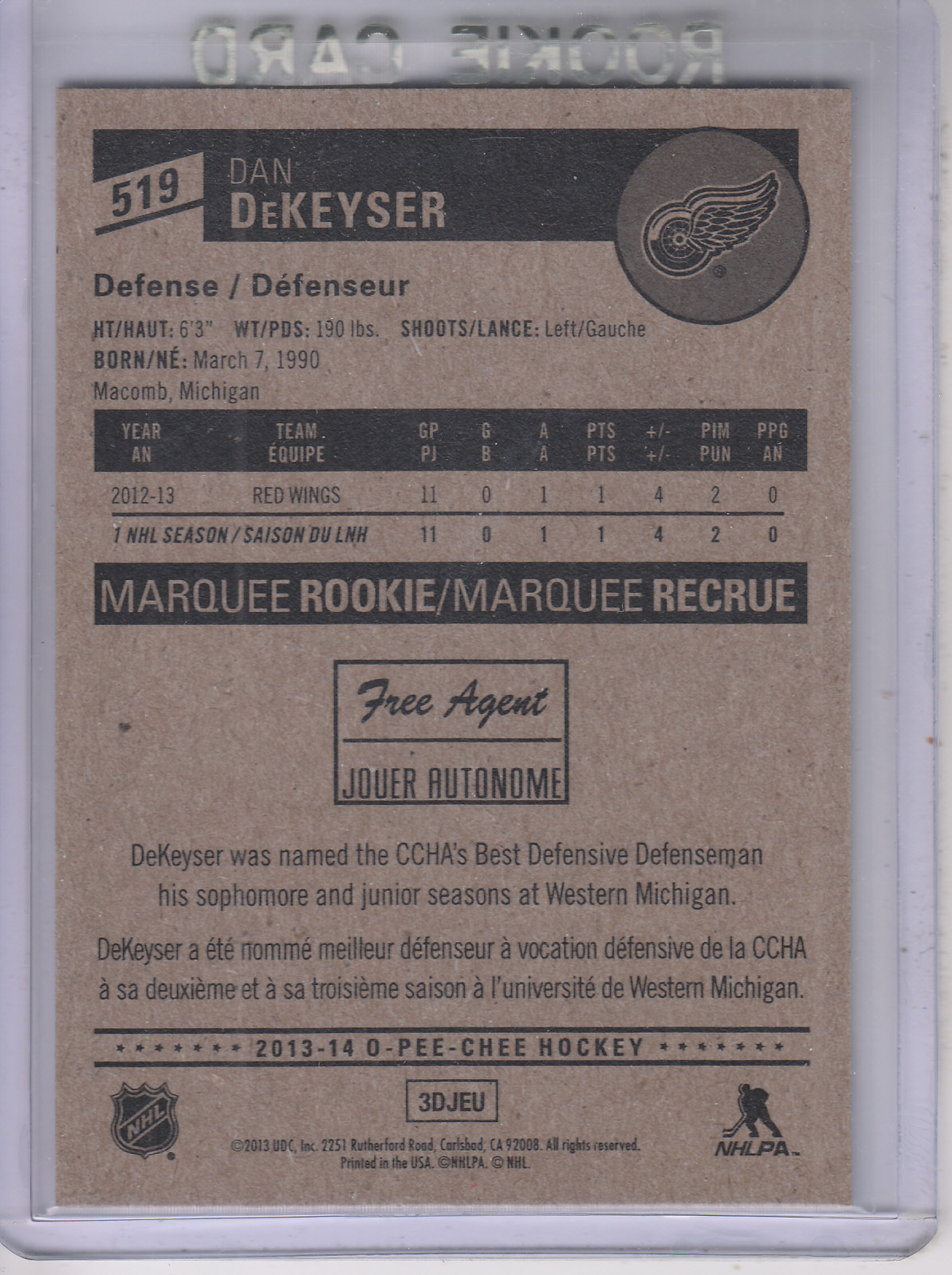 2013-14-Pee-O-Chee-Hk-base-501-642-Rookies-YOU-Pick-acquista-carte-10-SPEDIZIONE-GRATUITA miniatura 33
