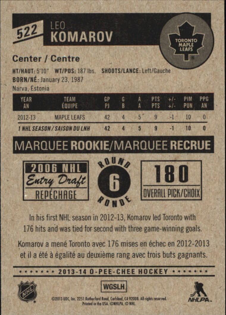 2013-14-Pee-O-Chee-Hk-base-501-642-Rookies-YOU-Pick-acquista-carte-10-SPEDIZIONE-GRATUITA miniatura 37