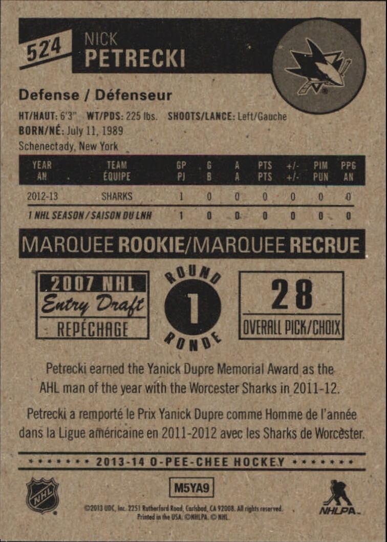 2013-14-Pee-O-Chee-Hk-base-501-642-Rookies-YOU-Pick-acquista-carte-10-SPEDIZIONE-GRATUITA miniatura 41