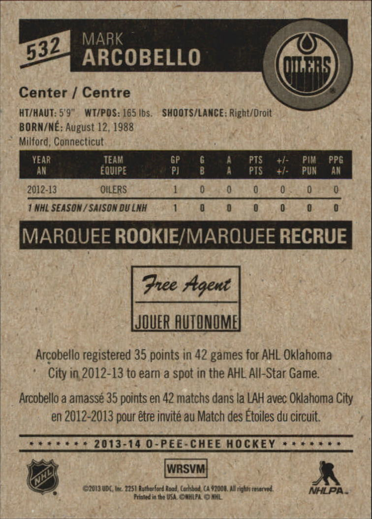 2013-14-Pee-O-Chee-Hk-base-501-642-Rookies-YOU-Pick-acquista-carte-10-SPEDIZIONE-GRATUITA miniatura 50