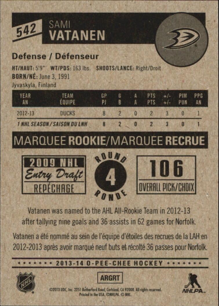2013-14-Pee-O-Chee-Hk-base-501-642-Rookies-YOU-Pick-acquista-carte-10-SPEDIZIONE-GRATUITA miniatura 61