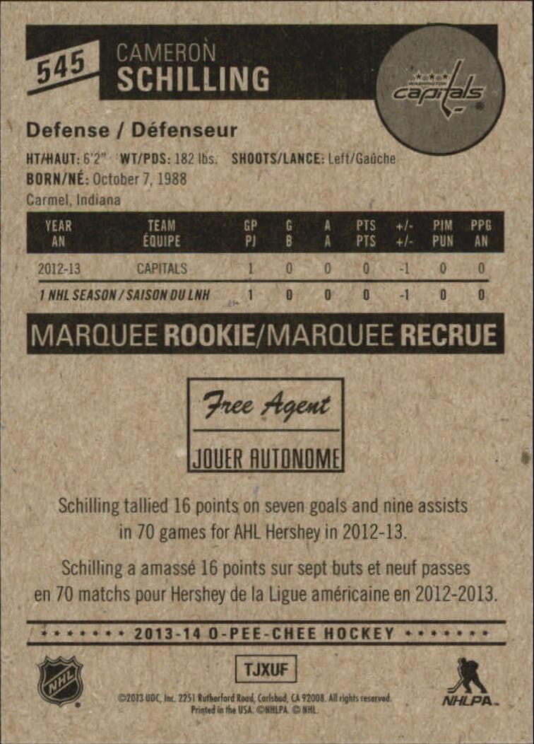 2013-14-Pee-O-Chee-Hk-base-501-642-Rookies-YOU-Pick-acquista-carte-10-SPEDIZIONE-GRATUITA miniatura 67