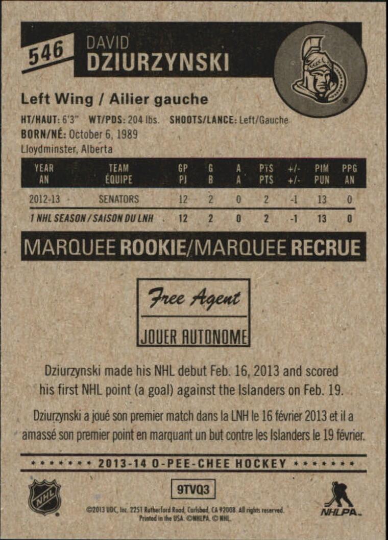 2013-14-Pee-O-Chee-Hk-base-501-642-Rookies-YOU-Pick-acquista-carte-10-SPEDIZIONE-GRATUITA miniatura 69
