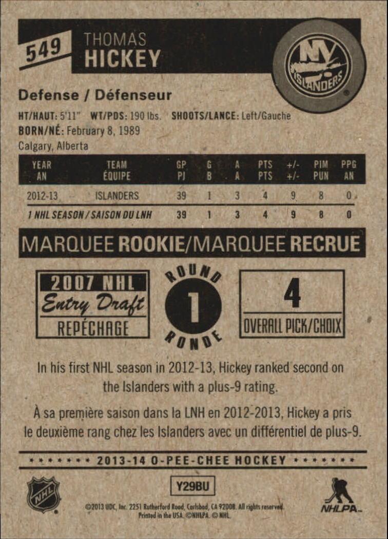 2013-14-Pee-O-Chee-Hk-base-501-642-Rookies-YOU-Pick-acquista-carte-10-SPEDIZIONE-GRATUITA miniatura 73