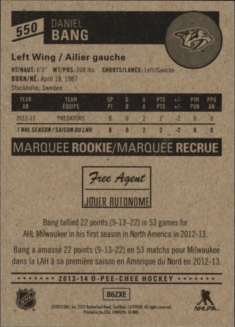 2013-14-Pee-O-Chee-Hk-base-501-642-Rookies-YOU-Pick-acquista-carte-10-SPEDIZIONE-GRATUITA miniatura 75