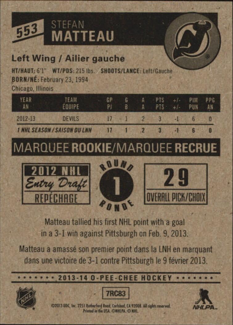 2013-14-Pee-O-Chee-Hk-base-501-642-Rookies-YOU-Pick-acquista-carte-10-SPEDIZIONE-GRATUITA miniatura 79