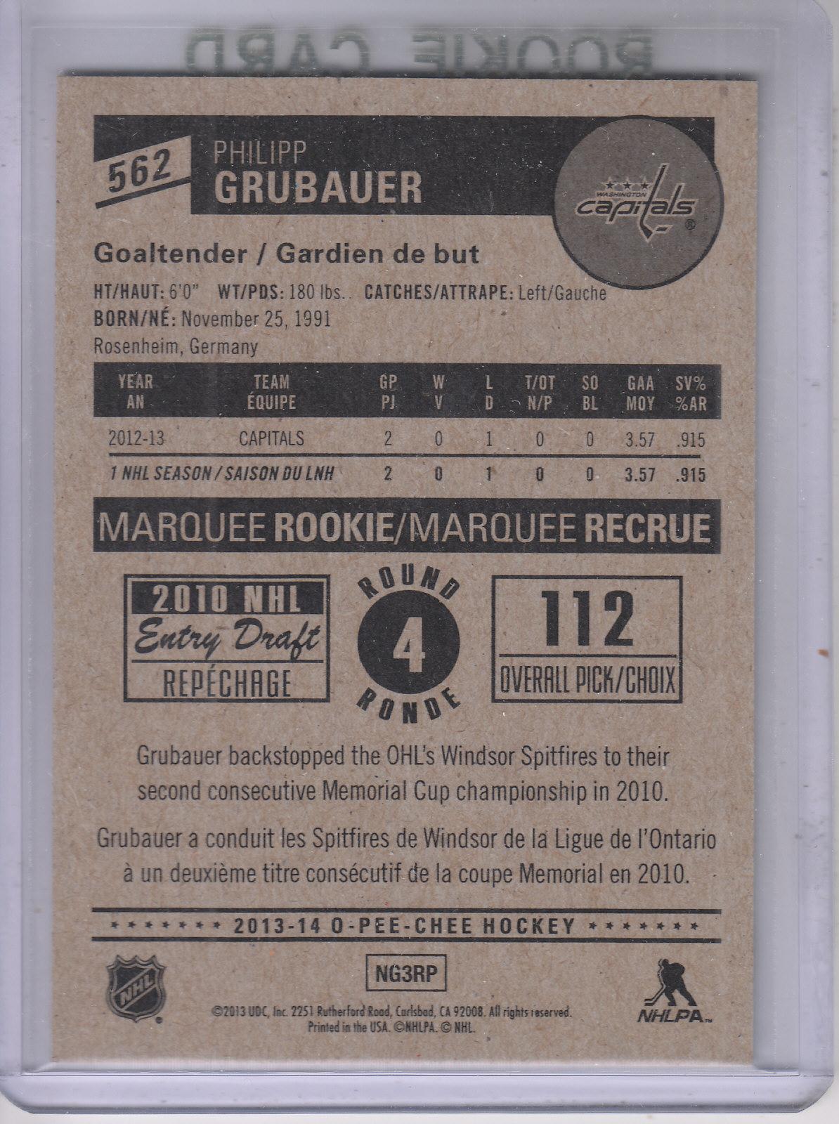 2013-14-Pee-O-Chee-Hk-base-501-642-Rookies-YOU-Pick-acquista-carte-10-SPEDIZIONE-GRATUITA miniatura 84