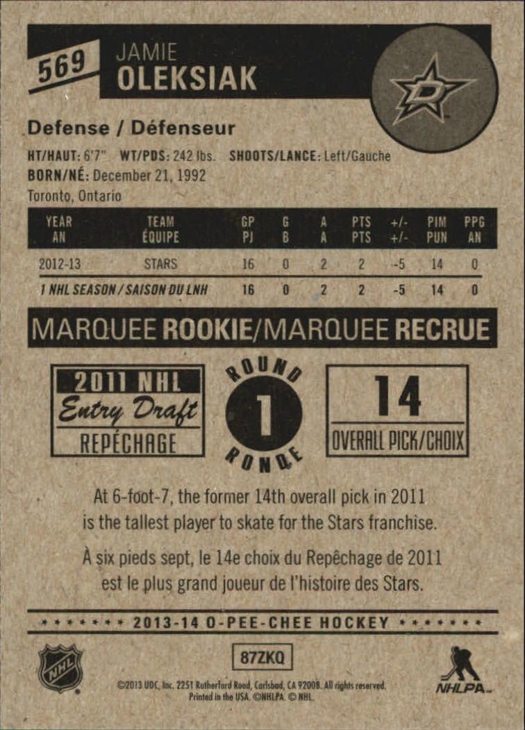 2013-14-Pee-O-Chee-Hk-base-501-642-Rookies-YOU-Pick-acquista-carte-10-SPEDIZIONE-GRATUITA miniatura 93