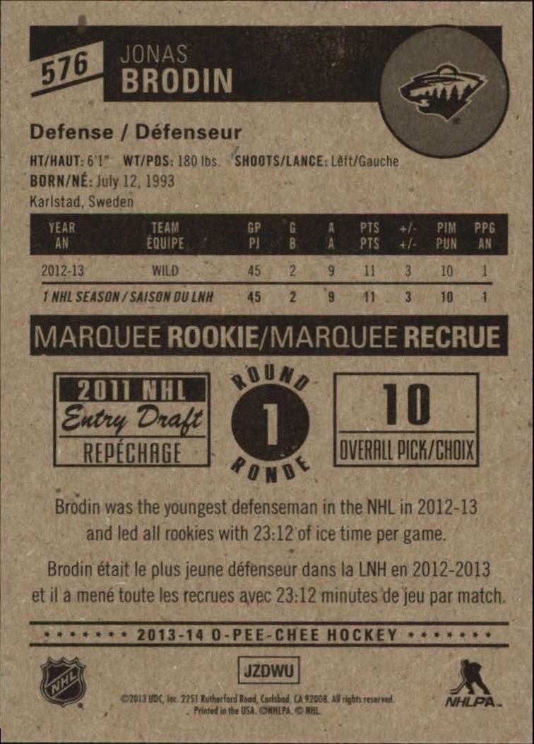 2013-14-Pee-O-Chee-Hk-base-501-642-Rookies-YOU-Pick-acquista-carte-10-SPEDIZIONE-GRATUITA miniatura 102