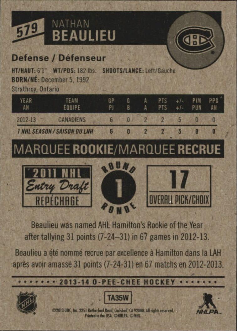 2013-14-Pee-O-Chee-Hk-base-501-642-Rookies-YOU-Pick-acquista-carte-10-SPEDIZIONE-GRATUITA miniatura 108