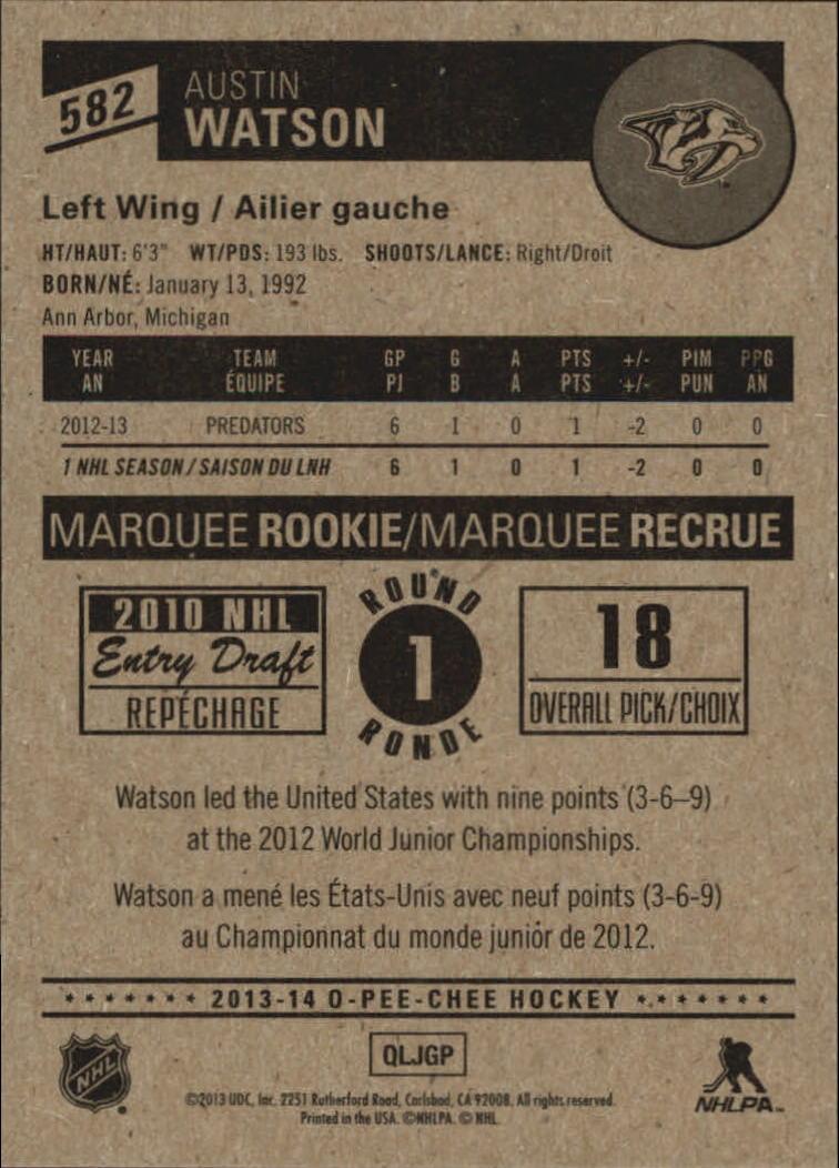2013-14-Pee-O-Chee-Hk-base-501-642-Rookies-YOU-Pick-acquista-carte-10-SPEDIZIONE-GRATUITA miniatura 112