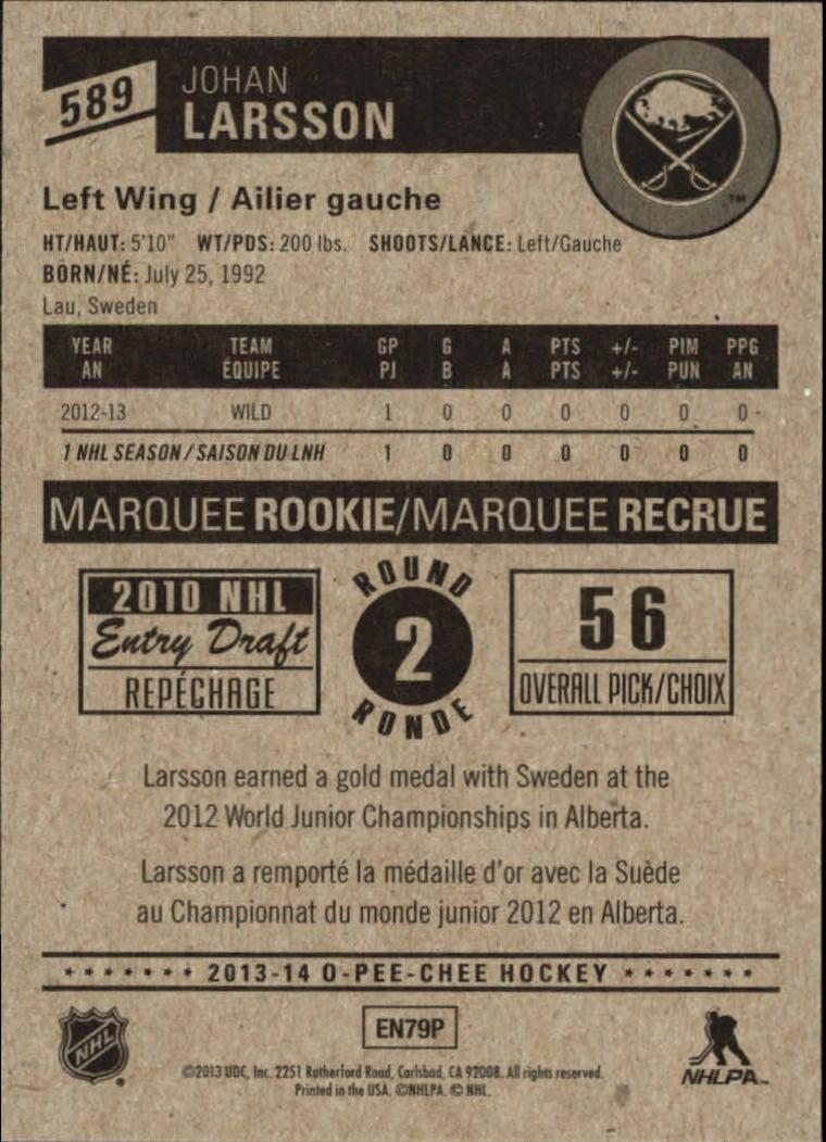 2013-14-Pee-O-Chee-Hk-base-501-642-Rookies-YOU-Pick-acquista-carte-10-SPEDIZIONE-GRATUITA miniatura 121
