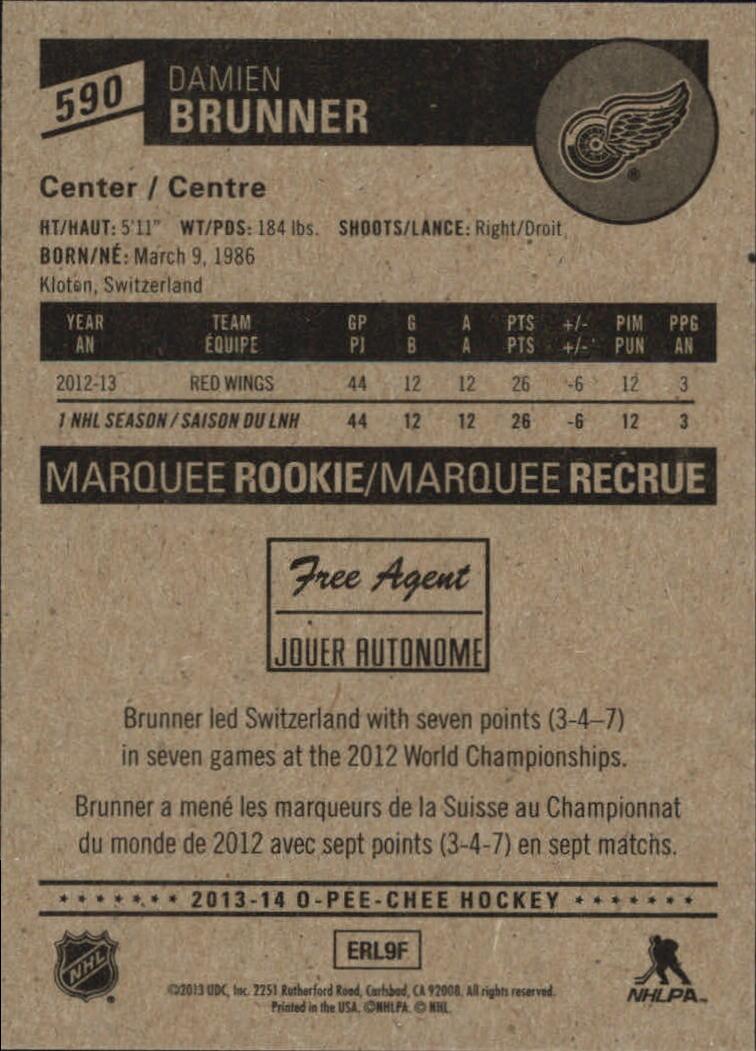 2013-14-Pee-O-Chee-Hk-base-501-642-Rookies-YOU-Pick-acquista-carte-10-SPEDIZIONE-GRATUITA miniatura 123
