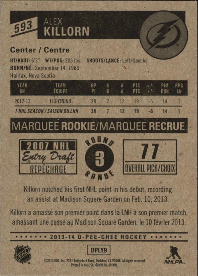 2013-14-Pee-O-Chee-Hk-base-501-642-Rookies-YOU-Pick-acquista-carte-10-SPEDIZIONE-GRATUITA miniatura 127