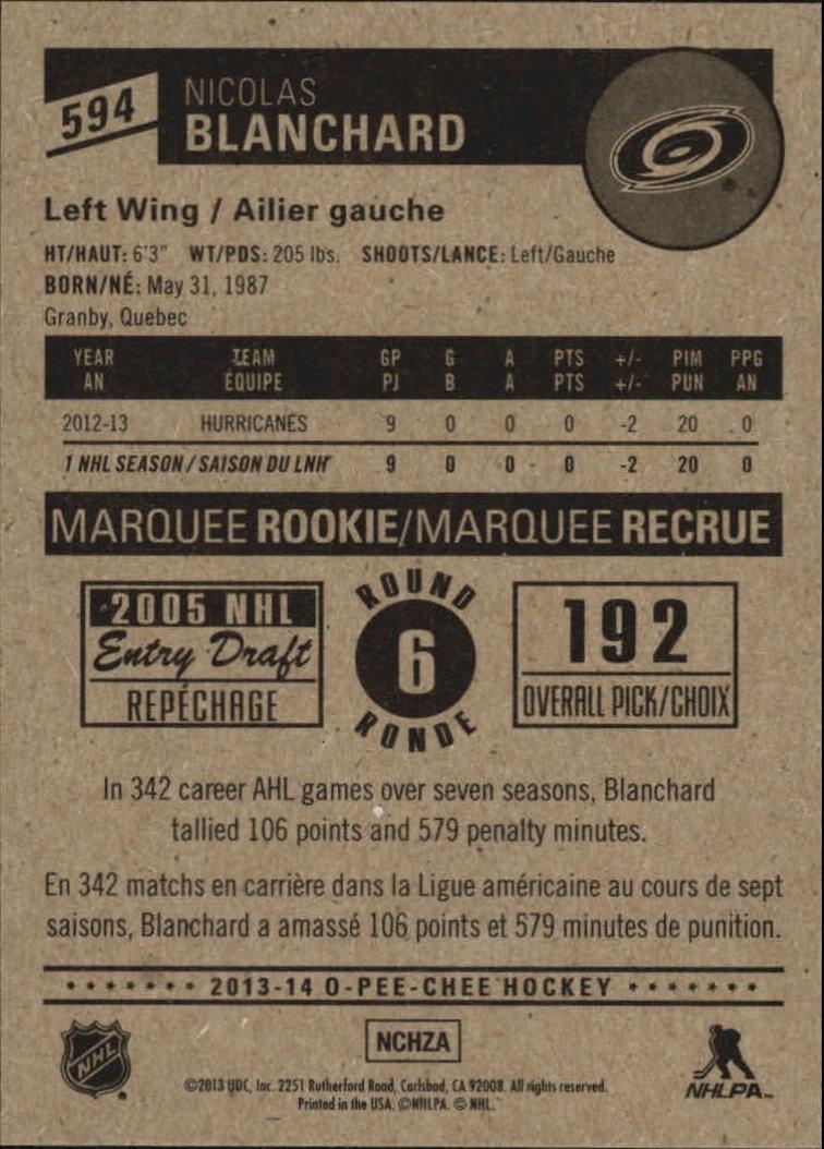 2013-14-Pee-O-Chee-Hk-base-501-642-Rookies-YOU-Pick-acquista-carte-10-SPEDIZIONE-GRATUITA miniatura 129