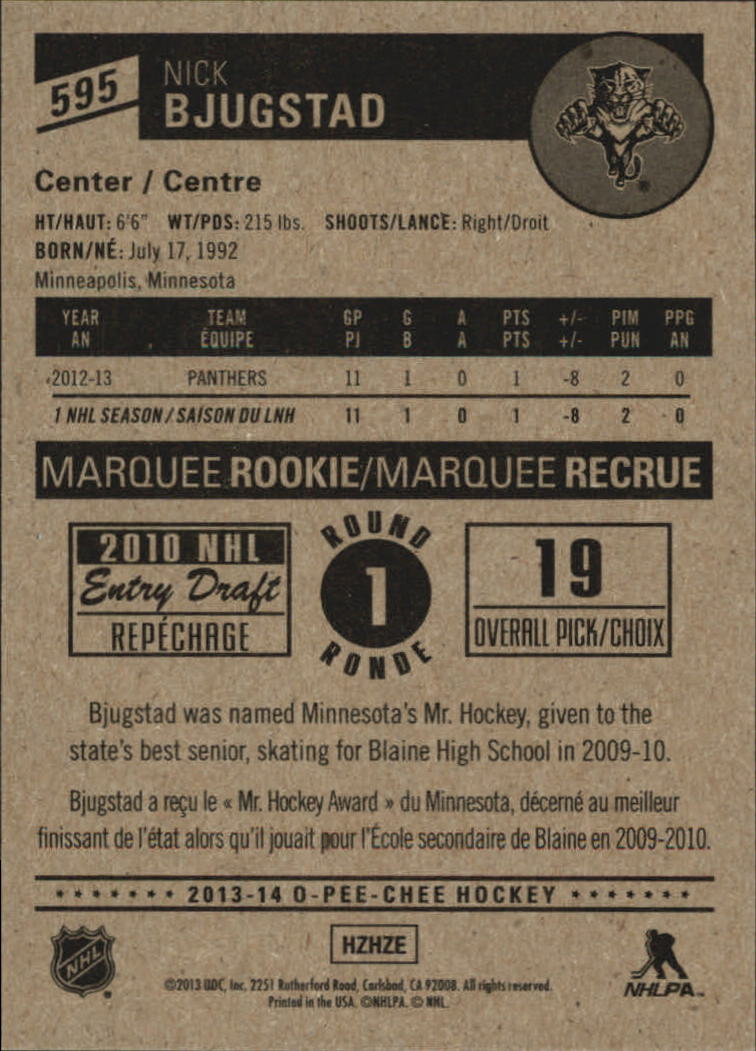 2013-14-Pee-O-Chee-Hk-base-501-642-Rookies-YOU-Pick-acquista-carte-10-SPEDIZIONE-GRATUITA miniatura 131