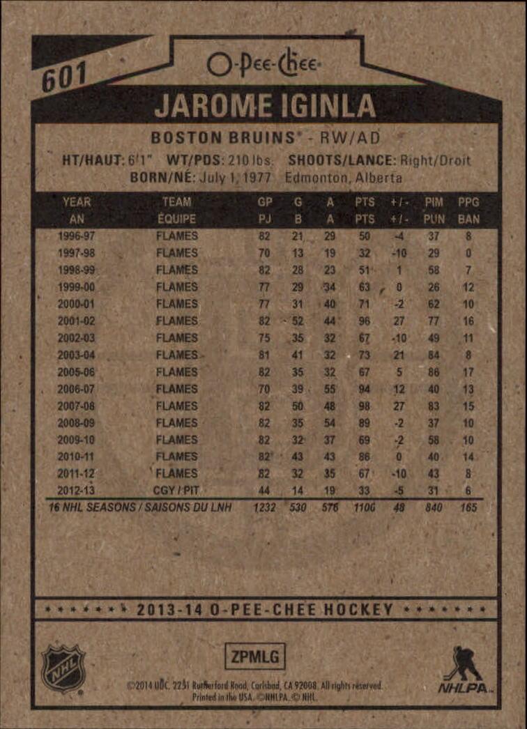 2013-14-Pee-O-Chee-Hk-base-501-642-Rookies-YOU-Pick-acquista-carte-10-SPEDIZIONE-GRATUITA miniatura 139