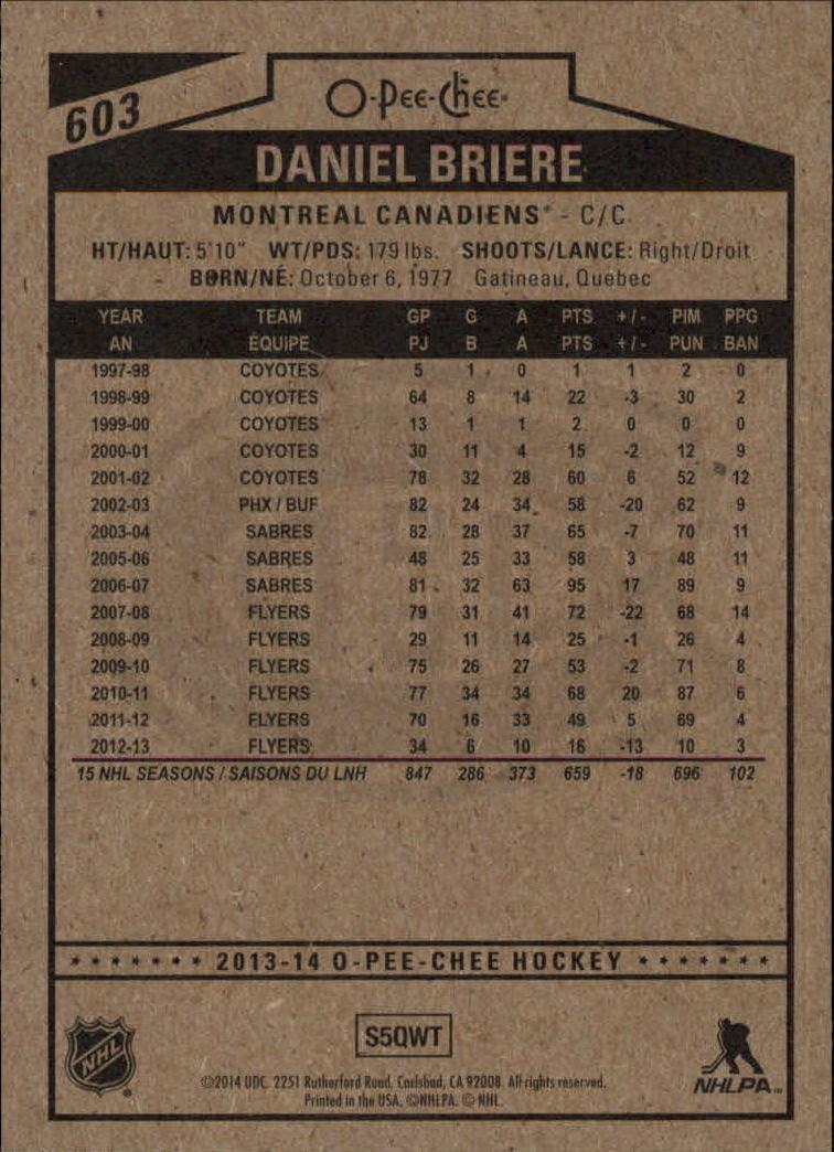 2013-14-Pee-O-Chee-Hk-base-501-642-Rookies-YOU-Pick-acquista-carte-10-SPEDIZIONE-GRATUITA miniatura 141