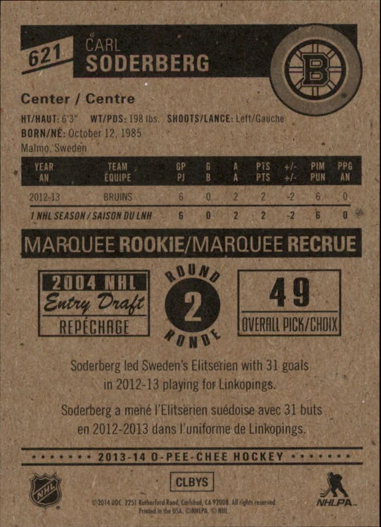 2013-14-Pee-O-Chee-Hk-base-501-642-Rookies-YOU-Pick-acquista-carte-10-SPEDIZIONE-GRATUITA miniatura 149
