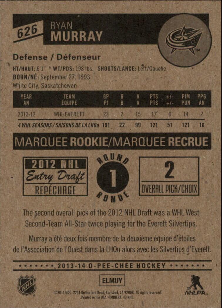 2013-14-Pee-O-Chee-Hk-base-501-642-Rookies-YOU-Pick-acquista-carte-10-SPEDIZIONE-GRATUITA miniatura 151
