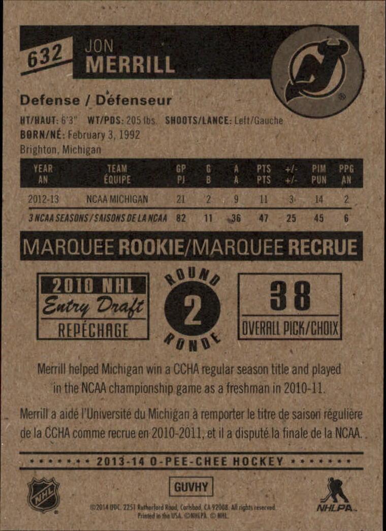 2013-14-Pee-O-Chee-Hk-base-501-642-Rookies-YOU-Pick-acquista-carte-10-SPEDIZIONE-GRATUITA miniatura 153