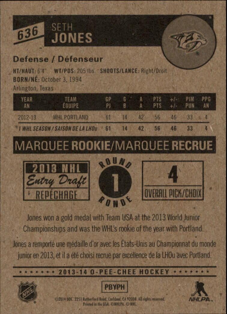 2013-14-Pee-O-Chee-Hk-base-501-642-Rookies-YOU-Pick-acquista-carte-10-SPEDIZIONE-GRATUITA miniatura 155