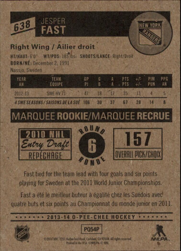 2013-14-Pee-O-Chee-Hk-base-501-642-Rookies-YOU-Pick-acquista-carte-10-SPEDIZIONE-GRATUITA miniatura 157