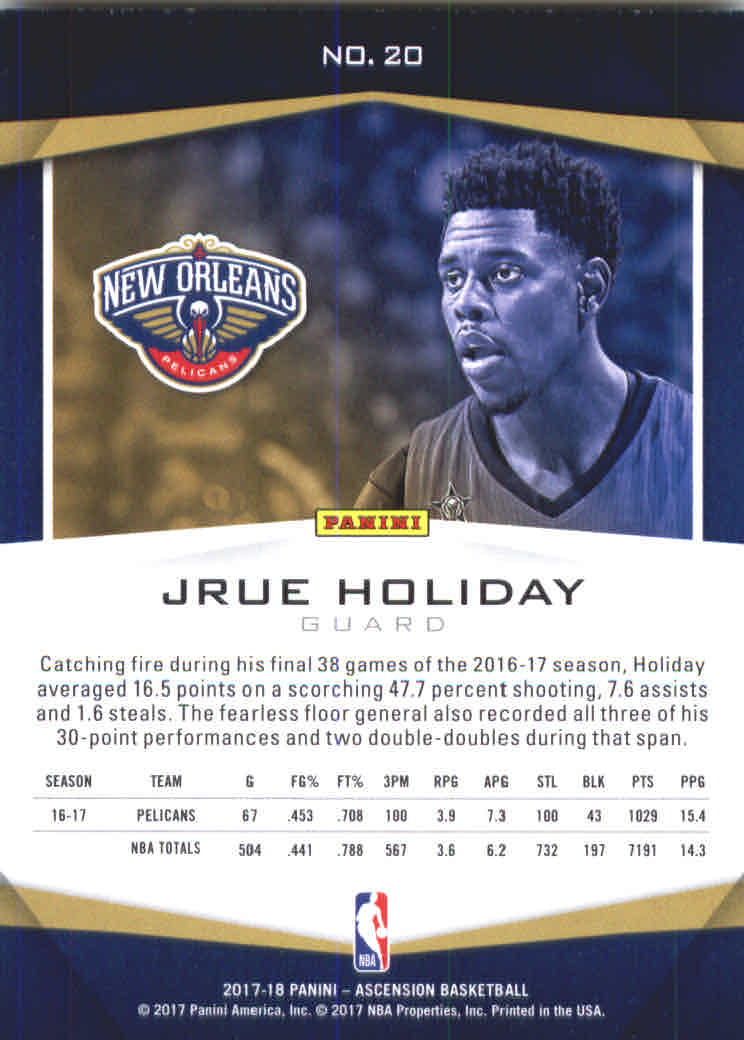 2017-18-Panini-Ascension-Basketball-Card-Pick thumbnail 39
