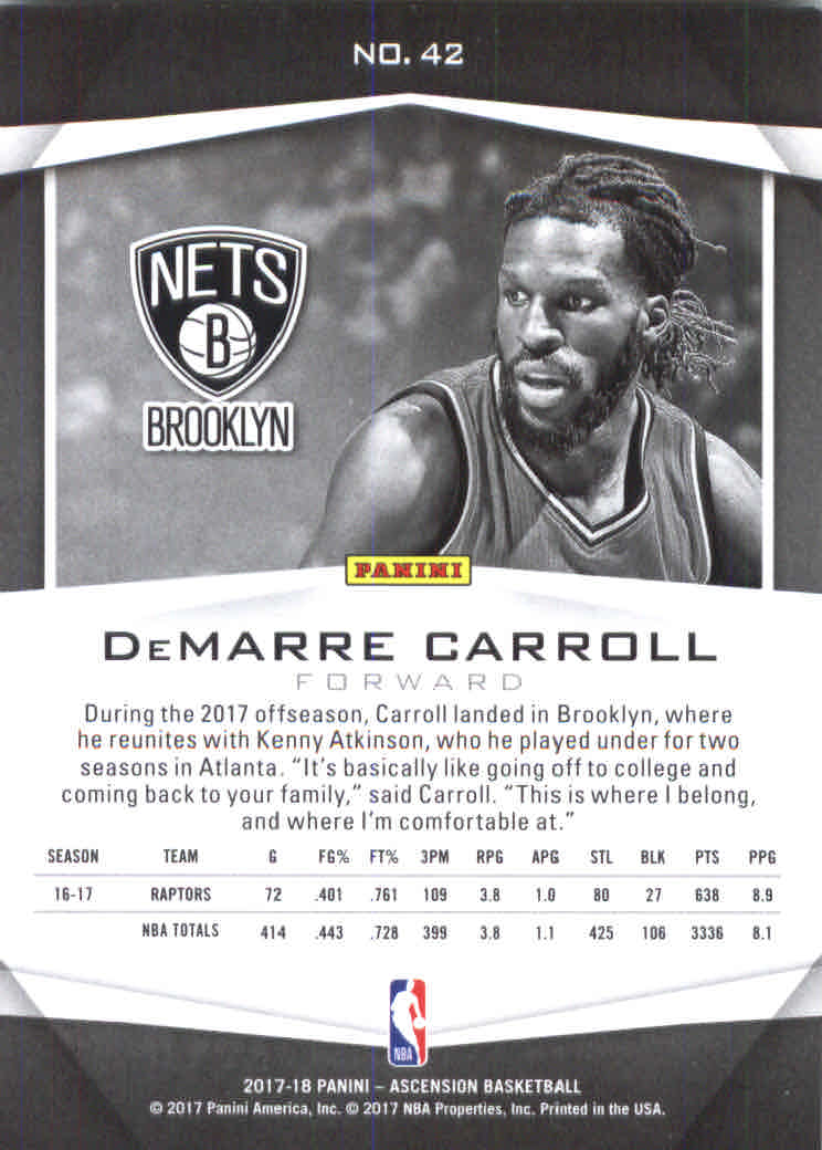 2017-18-Panini-Ascension-Basketball-Card-Pick thumbnail 83