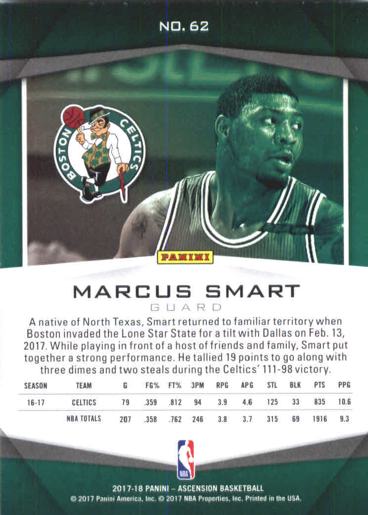 2017-18-Panini-Ascension-Basketball-Card-Pick thumbnail 123