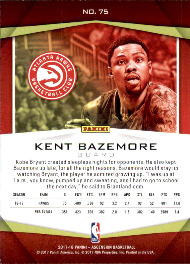 2017-18-Panini-Ascension-Basketball-Card-Pick thumbnail 149