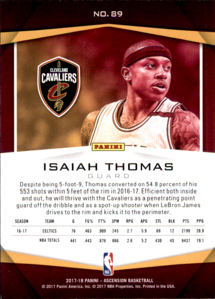 2017-18-Panini-Ascension-Basketball-Card-Pick thumbnail 183
