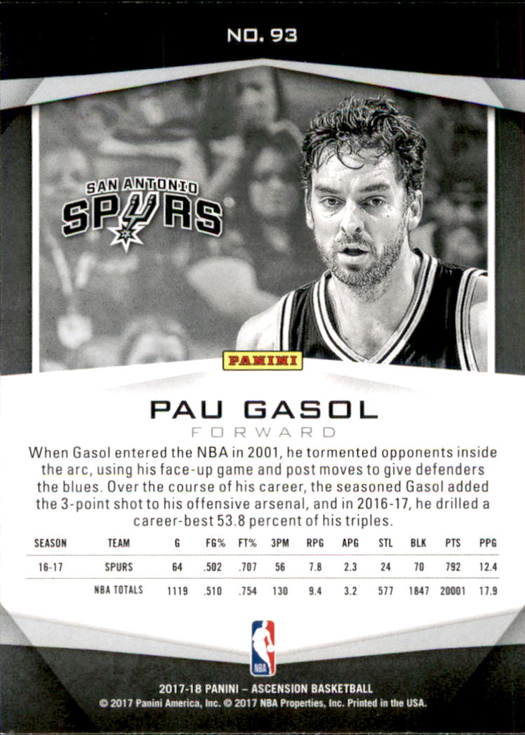 2017-18-Panini-Ascension-Basketball-Card-Pick thumbnail 195