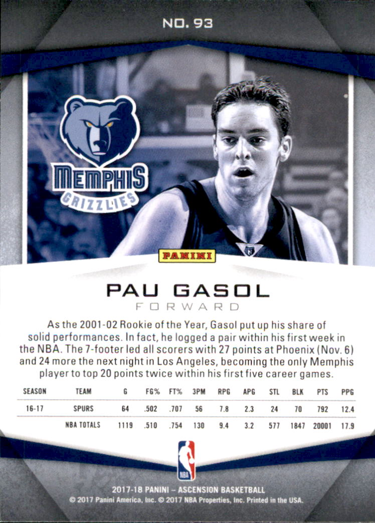 2017-18-Panini-Ascension-Basketball-Card-Pick thumbnail 197