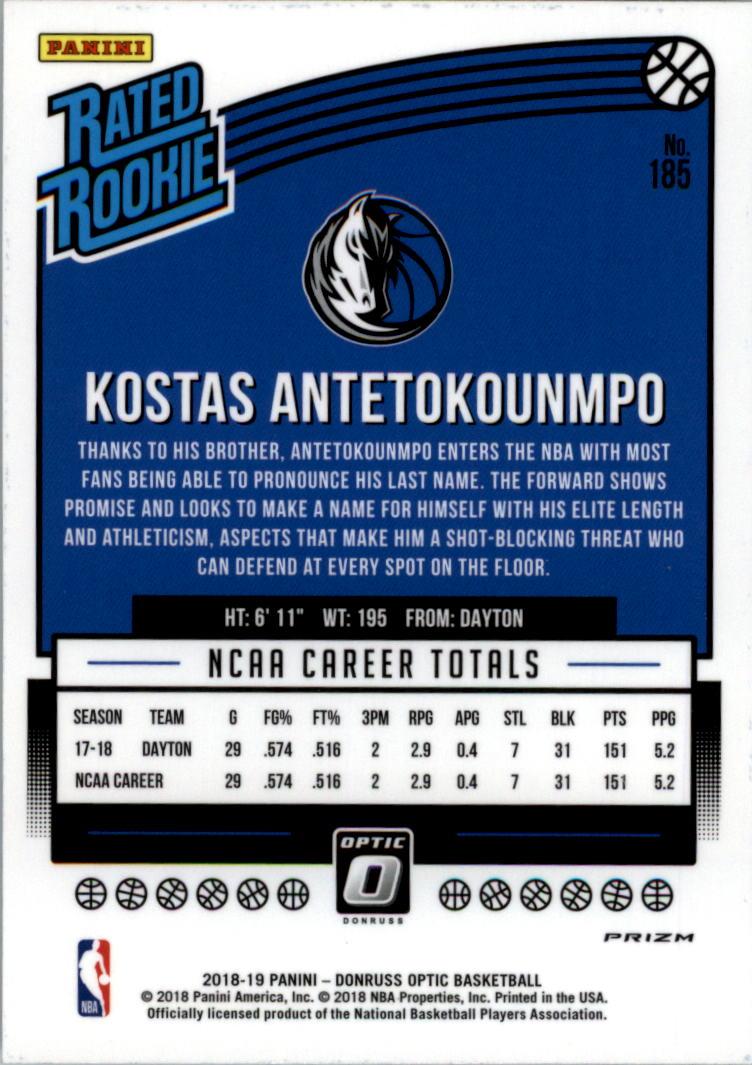 2018-19-Donruss-Optic-Shock-Bk-Rookie-Cards-A3184-You-Pick-10-FREE-SHIP miniatura 65
