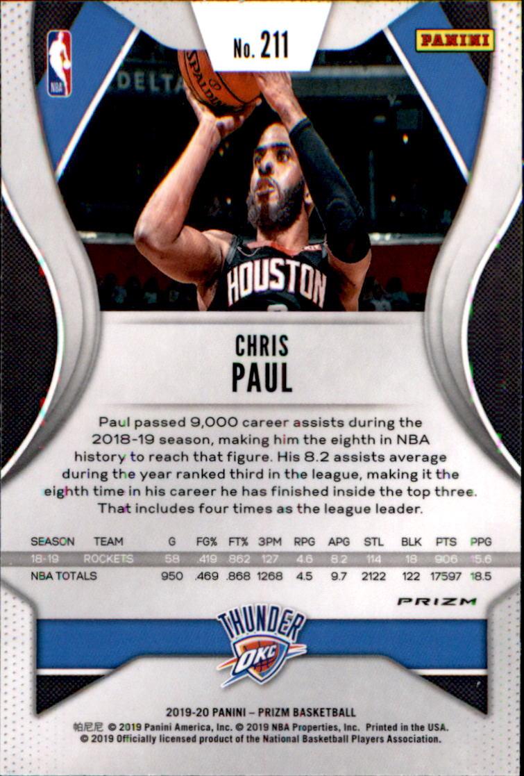 thumbnail 181 - 2019-20 Panini Prizm Prizms Red White and Blue Basketball Card Pick