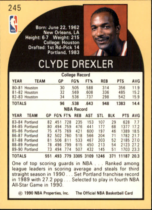 thumbnail 5 - 1990-91 Hoops Basketball Card Pick 244-440