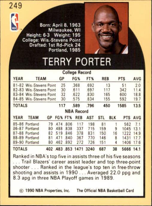 thumbnail 13 - 1990-91 Hoops Basketball Card Pick 244-440