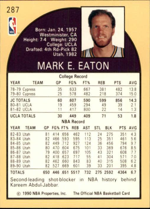 thumbnail 87 - 1990-91 Hoops Basketball Card Pick 244-440