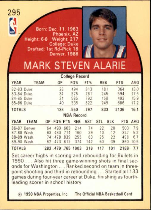 thumbnail 103 - 1990-91 Hoops Basketball Card Pick 244-440