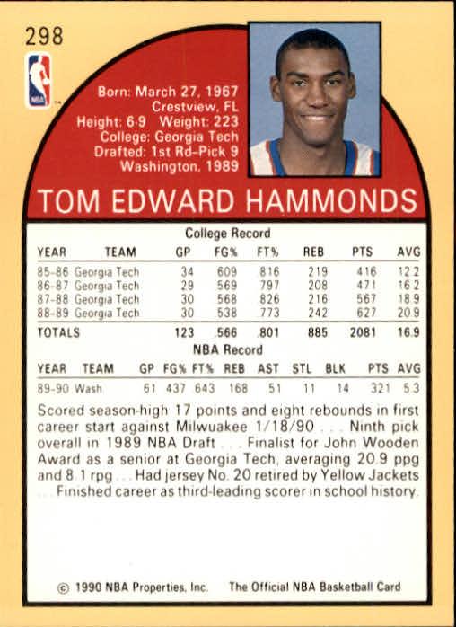 thumbnail 109 - 1990-91 Hoops Basketball Card Pick 244-440