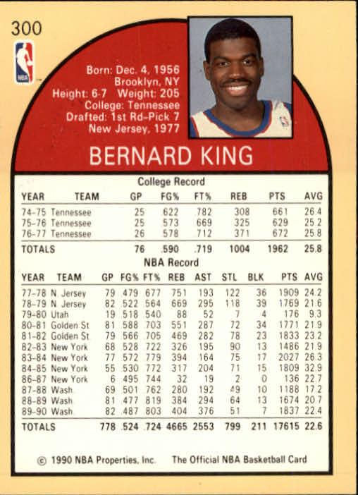 thumbnail 115 - 1990-91 Hoops Basketball Card Pick 244-440