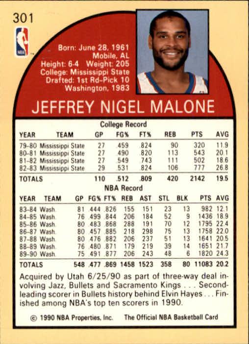 thumbnail 117 - 1990-91 Hoops Basketball Card Pick 244-440