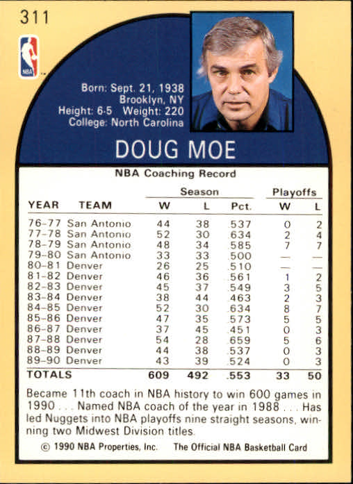 thumbnail 137 - 1990-91 Hoops Basketball Card Pick 244-440